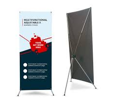 Banner stand x frame