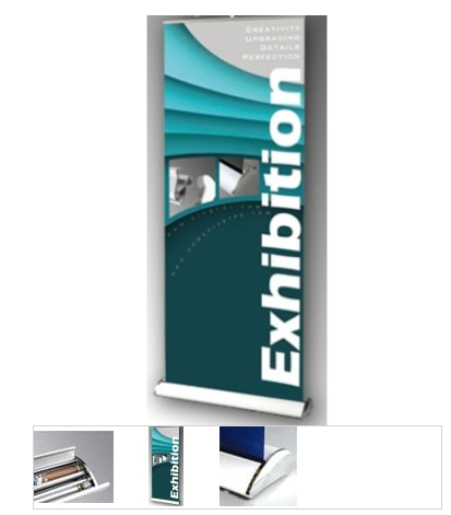 Deluxe Rollup Banner Stand