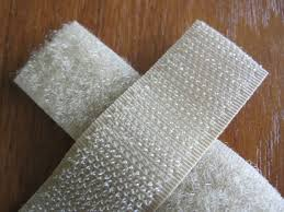 Velcro image white