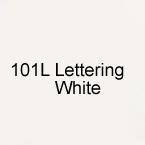101L Lettering White