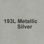193L Metallic Silver