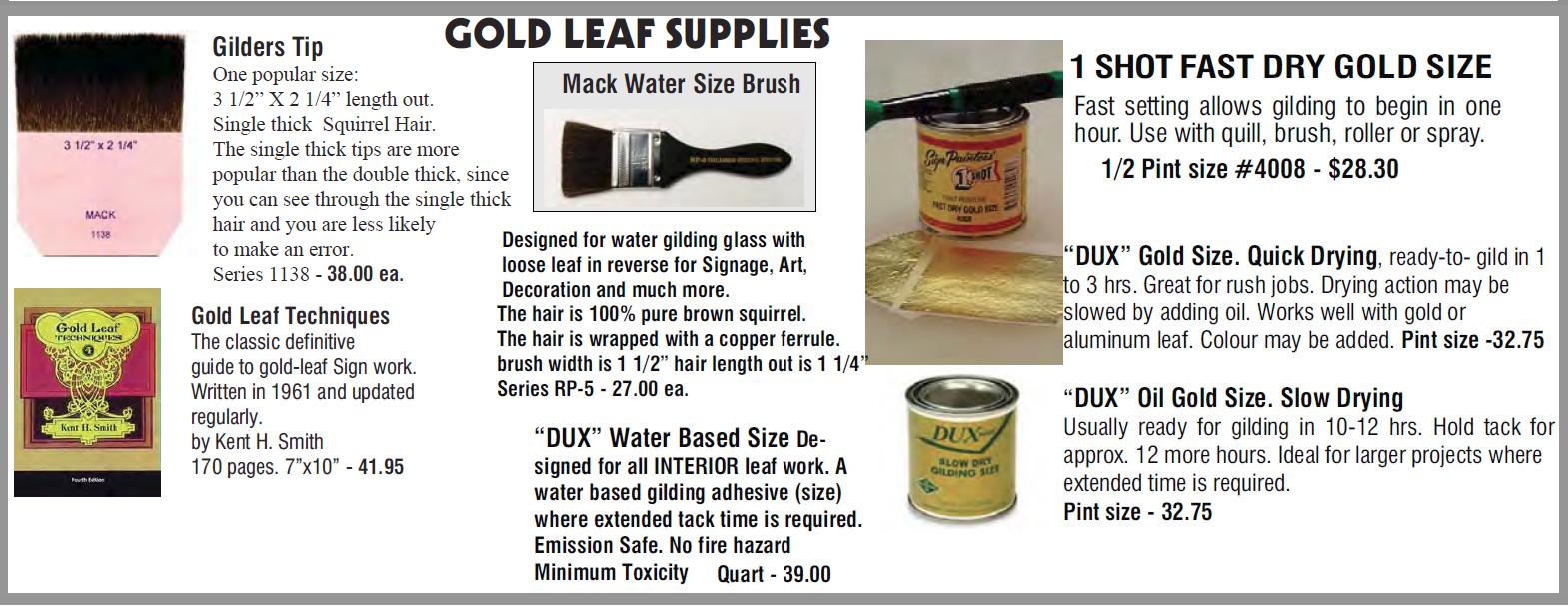 gold leaf part 2 1 - Gold Leaf Supplies