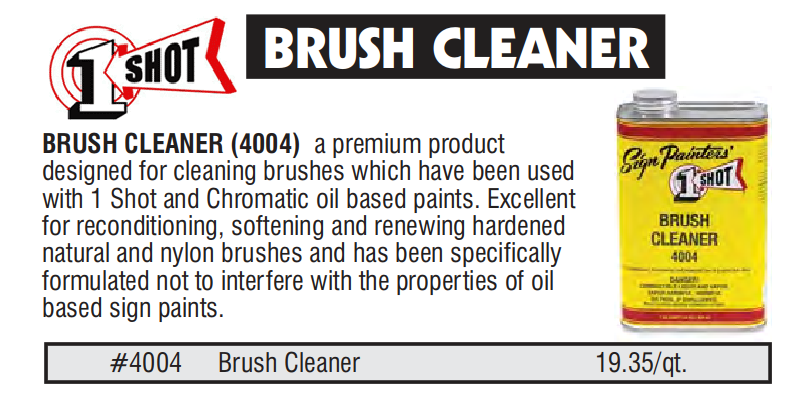 1 shot brush cleaner prices - 1 Shot Reducers, Tinting, Hardener, Brush Cleaner