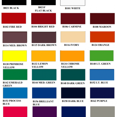 1 shot bulletin color card