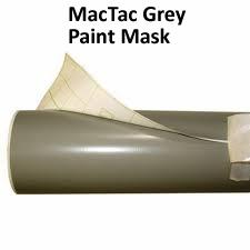 Mac tac grey paint mask image 2 - Premask Application Tape - Paint Mask