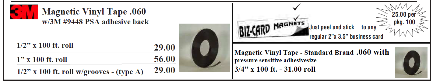 Magnetic Sheeting page 2 - Magnetic Sheeting