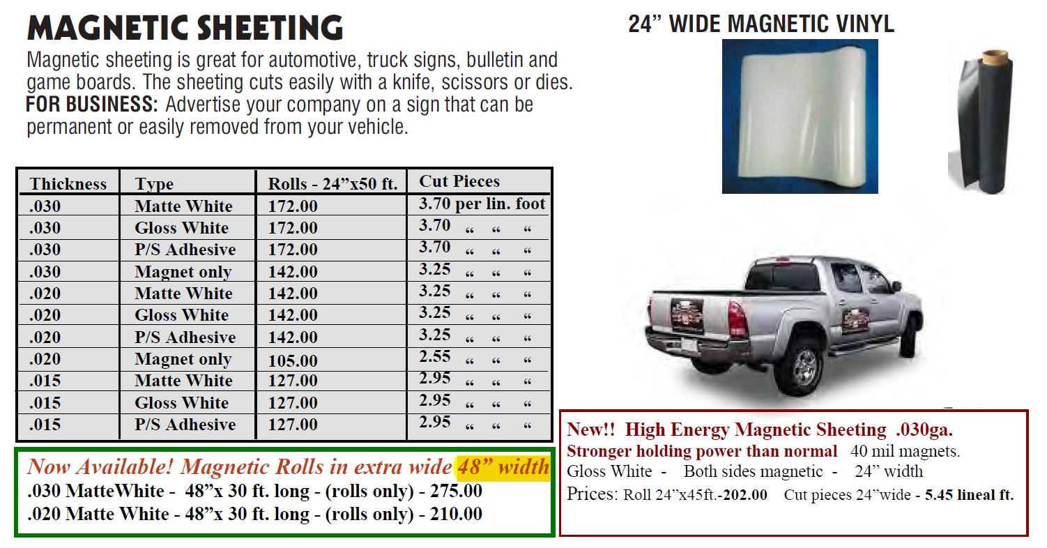 magnetic sheeting 3 - Magnetic Sheeting