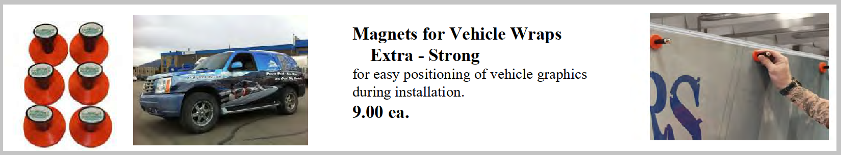 magnets vehicle - Vinyl Application Tools