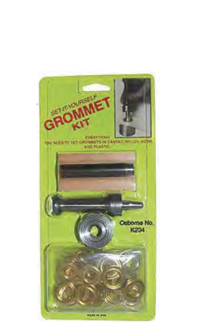 grommet kit 4 - Grommets, Grommeting Machines & Grommet Hand Tools