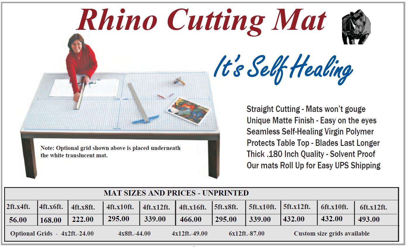 Cutting Mats 1 - Cutting Mats - Self Healing