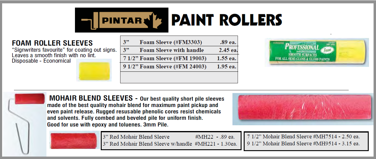 Paint Rollers - Paint Rollers - Handles