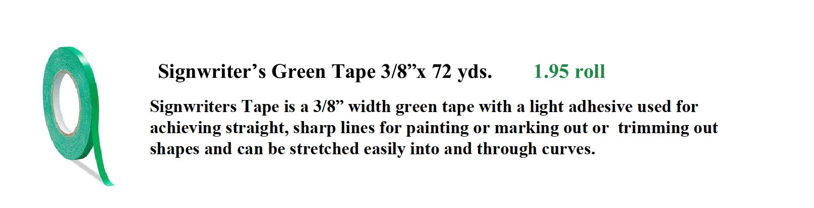 Tape signwriters image - Pinstriping Tape