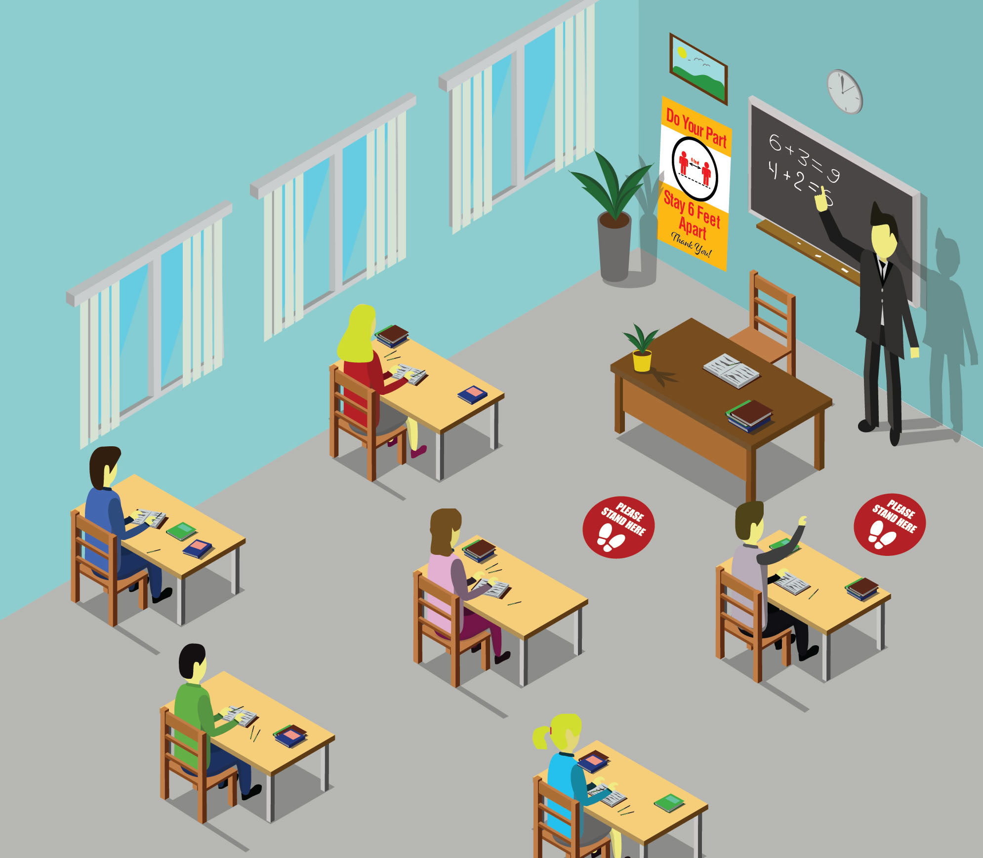 school illustration signage 1 - MacTac Digital Films