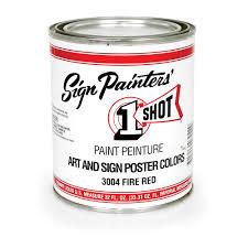 1 shot poster paint - 1 Shot Paints