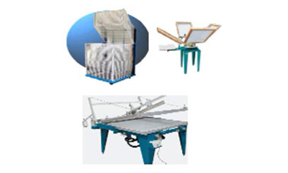 Screen printing equipment - Home Page