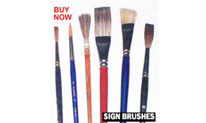 Sign brushes - Home Page