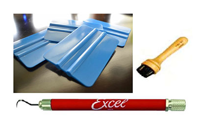 Squeegees application tools - Home Page