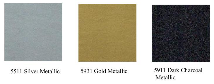 2.8 mil metallc images - Ultra Gloss Calendered Vinyl 2.8 mil Premium - Metallic Colours