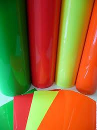 fluorescent cast vinyl image - SMF Fluorescent Vinyl