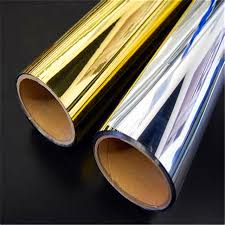 gold silver polyester - Metallized Films